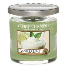 Yankee candle Svíčka ve skleněné dóze Yankee Candle Vanilka s limetkami, 198 g
