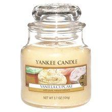 Yankee candle Svíčka ve skleněné dóze Yankee Candle Vanilkový košíček, 104 g