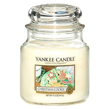 Yankee candle Svíčka ve skleněné dóze Yankee Candle Vánoční cukroví, 410 g