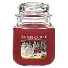 Yankee candle Svíčka ve skleněné dóze Yankee Candle Vánoční kouzlo, 410 g