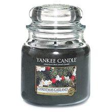 Yankee candle Svíčka ve skleněné dóze Yankee Candle Vánoční věnec, 410 g