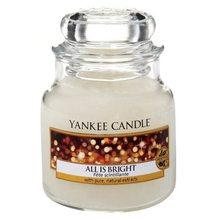 Yankee candle Svíčka ve skleněné dóze Yankee Candle Všechno jen září, 104 g