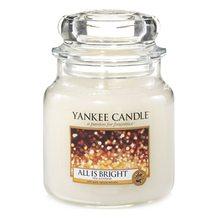 Yankee candle Svíčka ve skleněné dóze Yankee Candle Všechno jen září, 410g