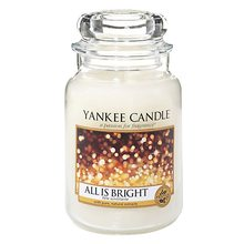 Yankee candle Svíčka ve skleněné dóze Yankee Candle Všechno jen září, 623 g