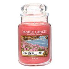 Yankee candle Svíčka ve skleněné dóze Yankee Candle Zahrada u moře, 623 g