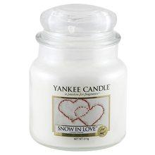 Yankee candle Svíčka ve skleněné dóze Yankee Candle Zamilovaný sníh, 410 g
