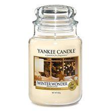Yankee candle Svíčka ve skleněné dóze Yankee Candle Zimní zázrak, 623 g