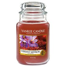 Yankee candle Svíčka ve skleněné dóze Yankee Candle Živoucí šafrán, 623 g