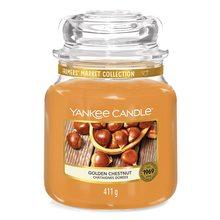 Yankee candle Svíčka ve skleněné dóze Yankee Candle Zlatý kaštan, 410 g