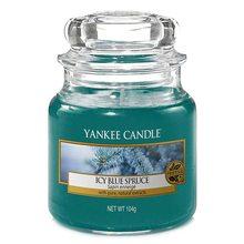 Yankee candle Svíčka ve skleněné dóze Yankee Candle Zledovatělý modrý smrk, 104 g