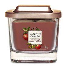 Yankee candle Svíčka ve skleněné váze Yankee Candle Amaretto s jablkem, 96 g