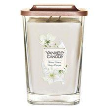 Yankee candle Svíčka ve skleněné váze Yankee Candle Čisté prádlo, 552 g