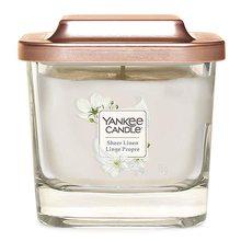 Yankee candle Svíčka ve skleněné váze Yankee Candle Čisté prádlo, 96 g