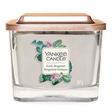 Yankee candle Svíčka ve skleněné váze Yankee Candle Exotický bergamot, 347 g
