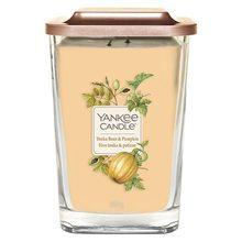 Yankee candle Svíčka ve skleněné váze Yankee Candle Fazole Tonka a dýně, 552 g