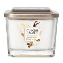 Yankee candle Svíčka ve skleněné váze Yankee Candle Sladká poleva, 347 g