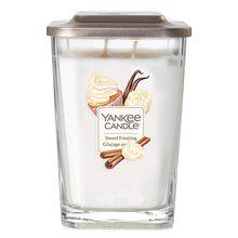 Yankee candle Svíčka ve skleněné váze Yankee Candle Sladká poleva, 552 g