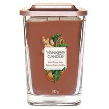 Yankee candle Svíčka ve skleněné váze Yankee Candle Sladký pomeranč a koření, 552 g