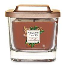 Yankee candle Svíčka ve skleněné váze Yankee Candle Sladký pomeranč a koření, 96 g
