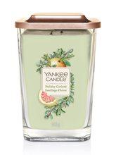 Yankee candle Svíčka ve skleněné váze Yankee Candle Sváteční girlanda, 552 g