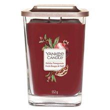 Yankee candle Svíčka ve skleněné váze Yankee Candle Sváteční granátové jablko, 552 g