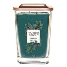 Yankee candle Svíčka ve skleněné váze Yankee Candle Zmrzlá jedle, 552 g