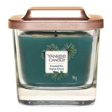 Yankee candle Svíčka ve skleněné váze Yankee Candle Zmrzlá jedle, 96 g