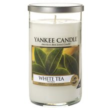 Yankee candle Svíčka ve skleněném válci Yankee Candle Bílý čaj, 340 g