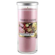 Yankee candle Svíčka ve skleněném válci Yankee Candle Čerstvě nařezané růže, 566 g