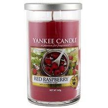 Yankee candle Svíčka ve skleněném válci Yankee Candle Červená malina, 340 g