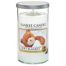 Yankee candle Svíčka ve skleněném válci Yankee Candle Jemná přikrývka, 340 g