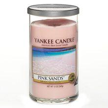 Yankee candle Svíčka ve skleněném válci Yankee Candle Růžové písky, 340 g