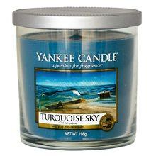 Yankee candle Svíčka ve skleněném válci Yankee Candle Tyrkysová obloha, 198 g