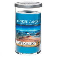 Yankee candle Svíčka ve skleněném válci Yankee Candle Tyrkysová obloha, 340 g