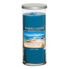 Yankee candle Svíčka ve skleněném válci Yankee Candle Tyrkysová obloha, 566 g