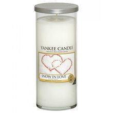 Yankee candle Svíčka ve skleněném válci Yankee Candle Zamilovaný sníh, 538 g
