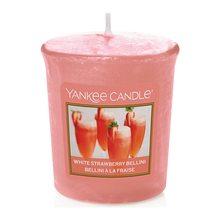 Yankee candle Svíčka Yankee Candle Jahodové Bellini, 49 g