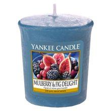 Yankee candle Svíčka Yankee Candle Lahodné moruše a fíky, 49 g