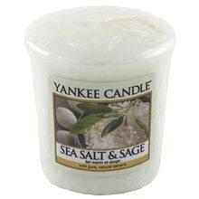 Yankee candle Svíčka Yankee Candle Mořská sůl a šalvěj, 49 g