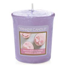 Yankee candle Svíčka Yankee Candle Sladká ranní růže, 49 g