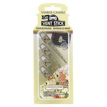 Yankee candle Vonné kolíčky Yankee Candle Vánoční cukroví, 4x osvěžovač do auta