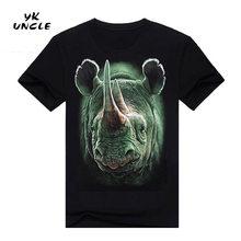 YK Uncle Pánské tričko Nosorožec