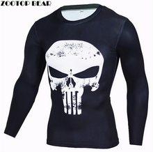 Zootop Bear Pánské elastické tričko Punisher
