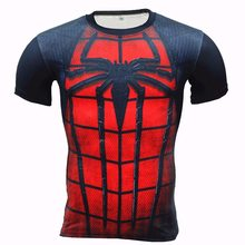 Zootop Bear Pánské elastické tričko Spider Man