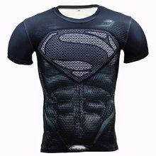 Zootop Bear Pánské elastické tričko Superman černé logo