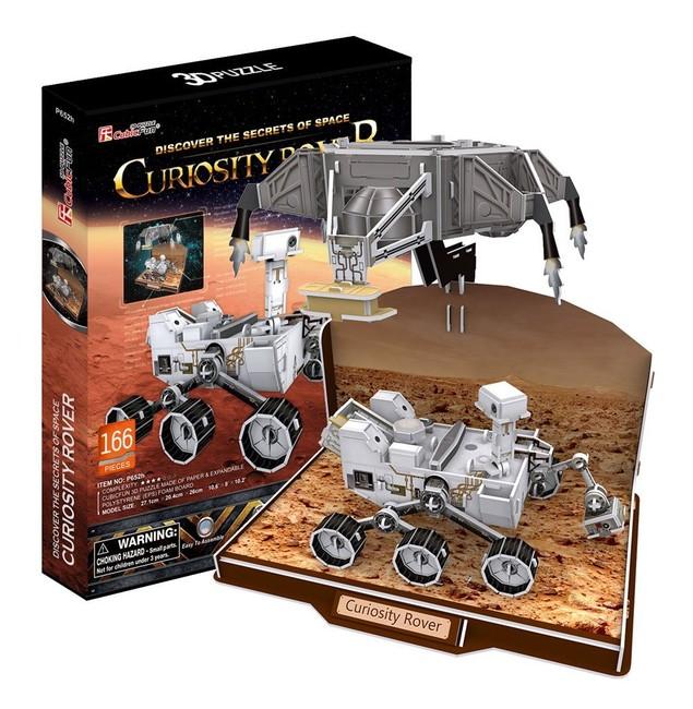 Cubic Fun 3D puzzle Curiosity Rover 166 dílků