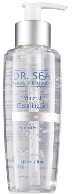 DR. SEA DR. SEA Vitamin E Face And Eye Area Mineral Cleansing Gel 210ml