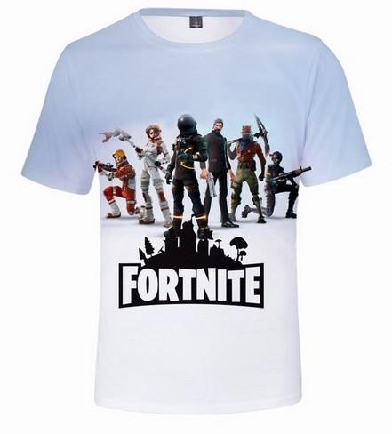 Fortnite Elastické tričko Fortnite white - L