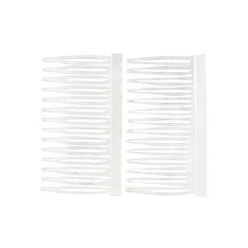 Franck Provost Hřebínky do vlasů 2ks Franck Provost 2ks, transparentní, šíře 7cm
