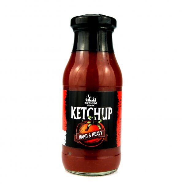 Fireland Foods Ketchup Hard & Heavy, 250ml Stupeň pálivosti: 9/12